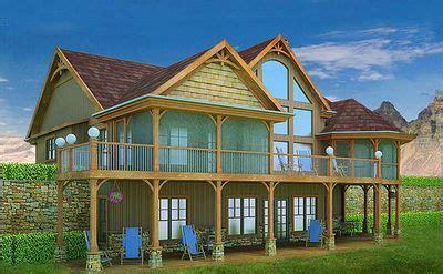 mountain  lake escape home plan mx architectural designs house plans