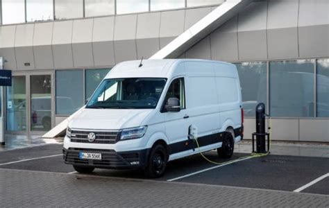 Volkswagen Commercial Vehicles Usa by Vw Commercial E Crafter Electric Cargo Makes Uk Debut
