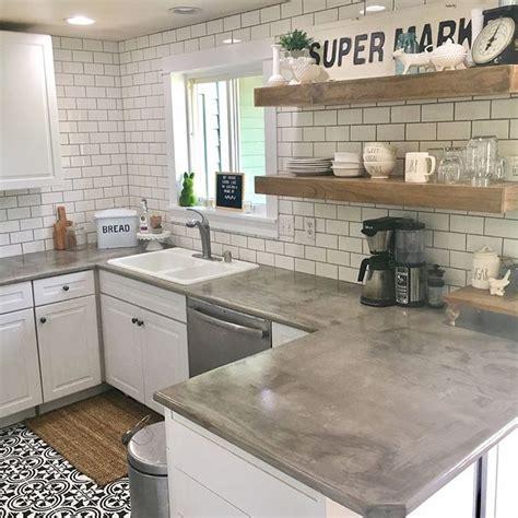 Best 25+ Concrete Countertops Ideas On Pinterest  Cement