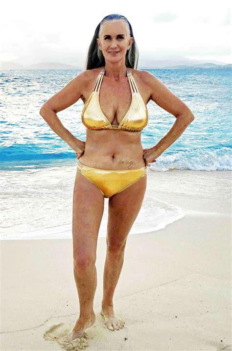 una lady como tú swimsuit grey hair don t care meet the inspirational woman who