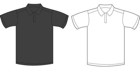 gambar vektor gratis kemeja baju kaos polo t shirt