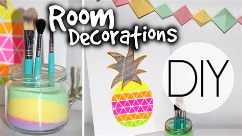 diy summer room decorations youtube