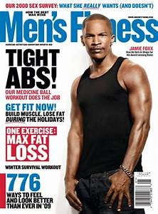 Jamie Foxx Celebrity Workout and Weight Loss, Men's Fitness