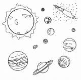 Coloring Pages Meteor Meteorite Comet Colouring Space Earth Printable Drawings Universe Outer Solar System Planet God Void Heavens Form Without sketch template