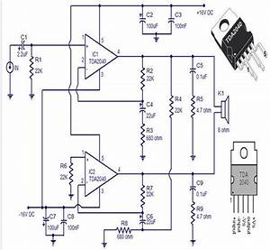30 Watts Audio Amplifier Circuit