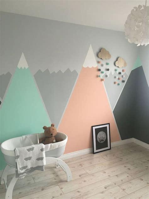 Wandgestaltung Kinderzimmer Mädchen Und Junge by Babyzimmer In Mint Und Grau Inspirierende Ideen F 252 R Ein