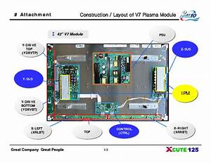 Lg Pdp42v7 Bulletins Service Manual Download  Schematics  Eeprom  Repair Info For Electronics