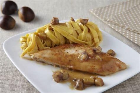 cuisiner escalope de dinde recette de escalope de dinde à la crème de marrons facile