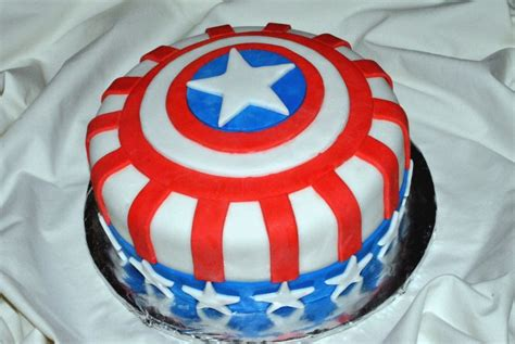 captain america cakes decoration ideas  birthday
