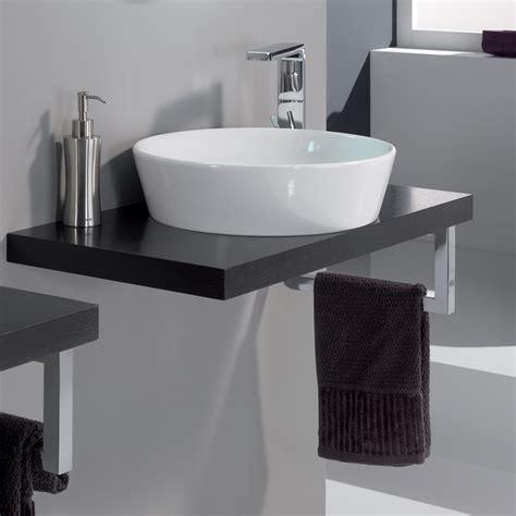 Modern Cleo 08 Veneered Wenge Bathroom Sink Stand