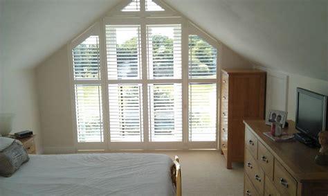 full length triangular gable window loft room