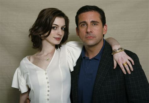 steve carell swimsuit anne hathaway gave carrell kissed in new movie china org cn
