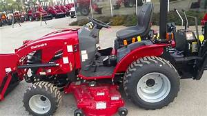 Mahindra Emax 25 Hst With Mid Mower And Backhoe