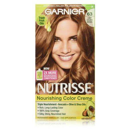 garnier light golden brown garnier nutrisse haircolor creme light golden brown 63