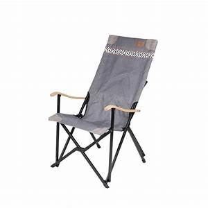 Fauteuil Bois Exterieur : fauteuil alu bois et toile vintage top accessoires ~ Melissatoandfro.com Idées de Décoration