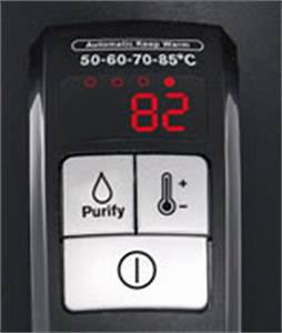 Wasserkocher 40 Grad : krups bw410 wasserkocher mit display 2400 watt schwarz ~ Whattoseeinmadrid.com Haus und Dekorationen