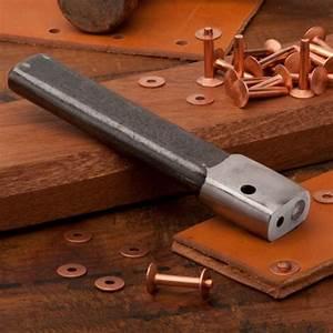 Rivet Setter and Copper Rivets - Leather, Canvas, Denim