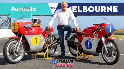 Giacomo Agostini   Island Classic 2018 Interview   MCNews ...