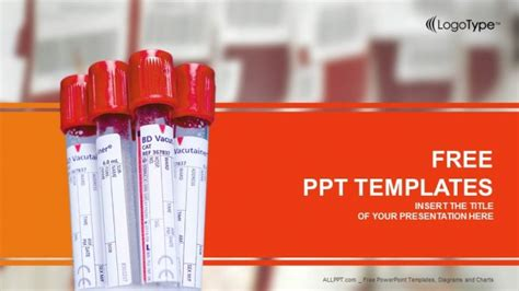 biochemistry blood tests powerpoint templates