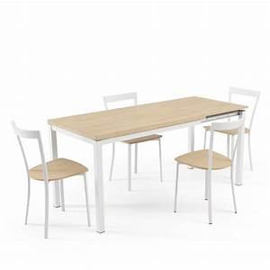 Table A Rallonge 20 Personnes : table de cuisine avec rallonge integree ~ Teatrodelosmanantiales.com Idées de Décoration