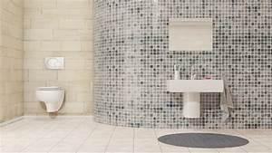 poser carrelage mural salle de bain farqna With prix pose carrelage mural salle de bain
