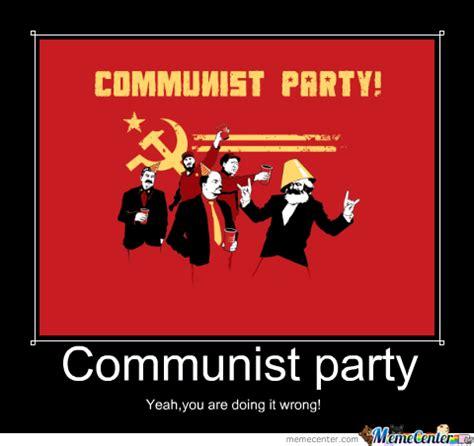 Communist Meme - communist party by dzida meme center