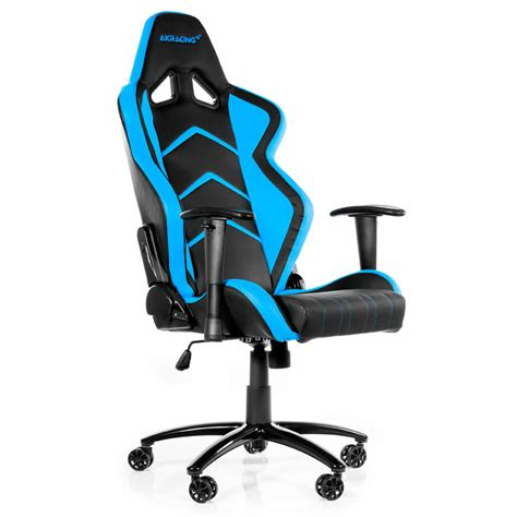 siege gamer akracing player gaming chair bleu fauteuil gamer