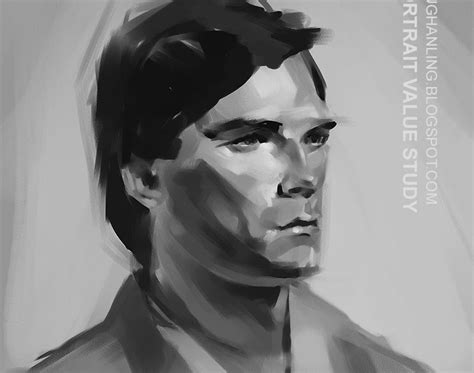 Ling Portrait Value Study