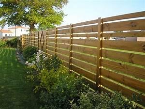 Faire Une Cloture En Bois : am nagement ext rieur menuiserie guillet agencement maison bois portail fenetre porte de garage ~ Dallasstarsshop.com Idées de Décoration
