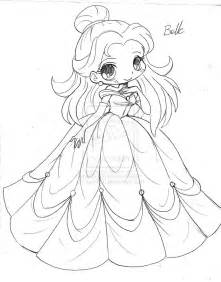 Anime Chibi Princess Coloring Pages