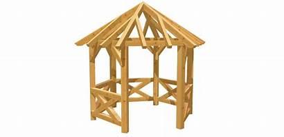 Holz Pavillon Bauen Selber Eckig Eck Bauplan