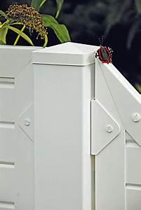 Sichtschutzzaun Kunststoff Weiß 180x180 : lightline sichtschutz mit gitter 180x180 cm wei 46290 g nstig ~ Whattoseeinmadrid.com Haus und Dekorationen