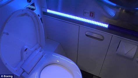 Uv Light Cleaning by Boeing Unveils Self Cleaning Plane Bathroom That Uses Uv