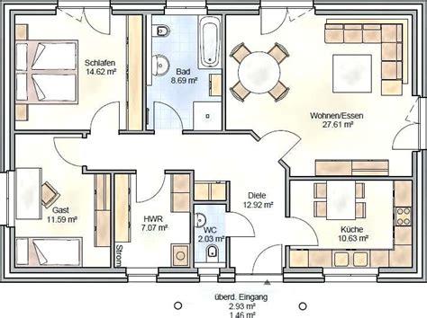 Grundriss Bungalow 150 Qm by Grundriss Vom Bungalow Grundriss Bungalow 3 Zimmer