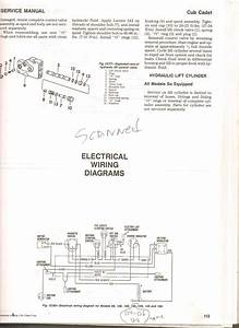 Cub Cadet Wiring Diagram For 129