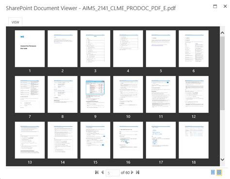 sharepoint document viewer view office documents