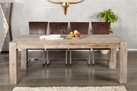 table de cuisine 8 places table de salle a manger en bois massif et moderne