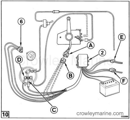 Power Trim Tilt Motor Wire Harness Kit Crowley Marine