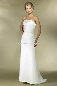 bride dress 2011 alexia informal 01 With robe blanche fourreau
