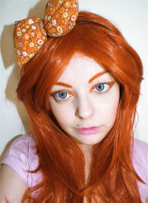 Emo Girl With Orange Hair