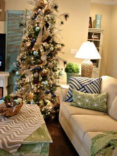 images  christmas trees  pinterest peacock