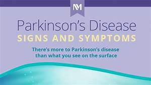 Northwestern Medicine My Chart Parkinson S Disease Signs And Symptoms Infographic