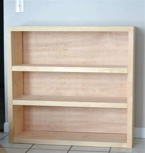 wanna build  bookcase simple furniture diy