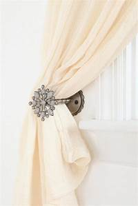 curtain tie back ideas Curtain: outstanding curtain tie back ideas How To Make ...