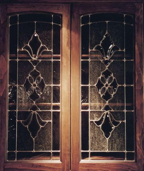 leaded glass cabinet doors stained glass cabinet inserts glass door cabinets