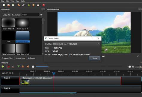 OpenShot Video Editor 2.4.4 - Descargar para PC Gratis