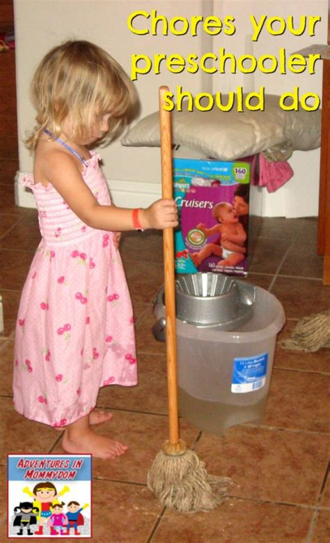 when should my do chores 235 | Chores your preschooler should do 623x1024