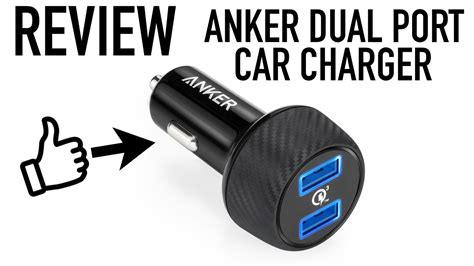 Anker Dual Car Charger by Anker Dual Car Charger Review Unboxing
