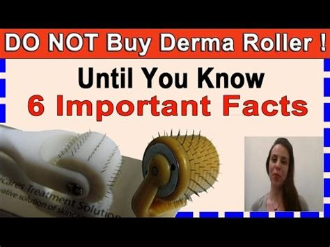 Not Buy Derma Roller Until You Know Important
