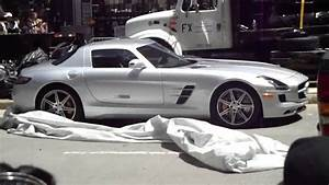 Transformers 3 Filming Chicago Silver Mercedes - YouTube